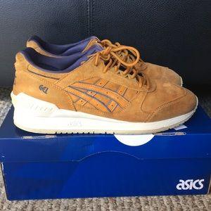 Men Asics Gel Respector Tan Shoes Size 9.5